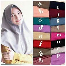 Jual Jilbab Model Baru Zahara Amira Khimar Simple Pad Pet