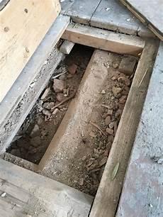 Sanierung Fu 223 Bodenaufbau Holzbalkendecke