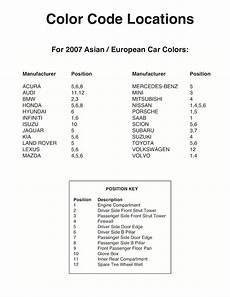 paint chips 2007 volkswagen