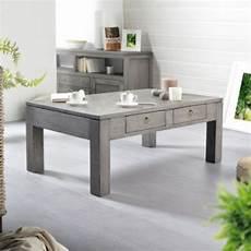 Table Basse La Redoute Table De Salon En Pin Gris Bello