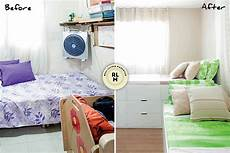 Small Space Small Bedroom Design Ideas Philippines by Rl Makeovers Built In Cabinets For A Small Bedroom