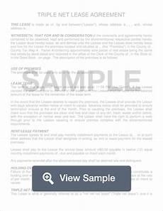 free triple net nnn lease agreement template pdf formswift
