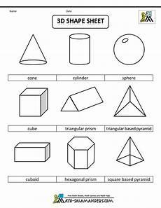different shapes worksheets 1086 3d geometric shapes sheet bw printable shapes shapes worksheets shapes worksheet kindergarten