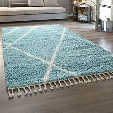 teppich de shaggy teppich wohnzimmer hochflor skandi teppich de