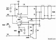 three wire rs232 to rs485 converter basic circuit circuit diagram seekic com