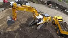 rc excavator liebherr 944 big rc equipment heavy rc