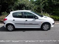 Used White Peugeot 206 2001 Diesel 1 9 D Lx 5dr Hatchback