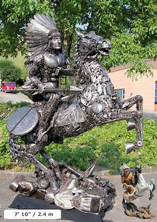 amazing metal sculptures made from reclaimed bronze custom sculptures made from recycled metal by tom samui