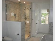 Half Wall Shower Home Design Ideas, Pictures, Remodel and