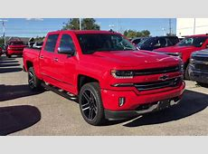2018 Chevrolet Silverado 1500 LTZ Crew Cab Red Hot Roy