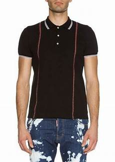 Suspender Polos dsquared2 dsquared2 suspender polo shirt casual shirts