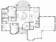 single level house plans open floor plans one level homes open floor plans small