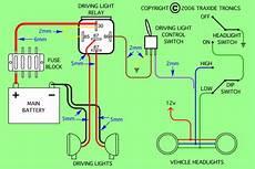 wiring for spots light bar s grand vitara