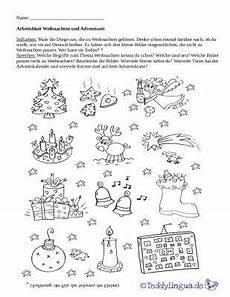 arbeitsblatt weihnachten und adventszeit vorschule
