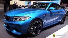2016 bmw m2 exterior and interior walkaround 2016 geneva motor show youtube