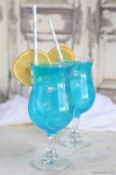 blue lagoon cocktail easy blue drink recipe mom foodie