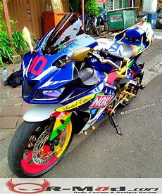 Modifikasi Yamaha R15 V3 by R15 187 187 Radhit Modifikasi