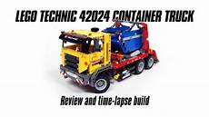 lego technic 42024 container truck build review