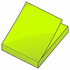 Post It Clipart