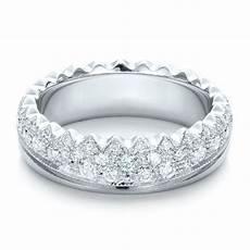 women s pave diamond wedding band 100838 seattle