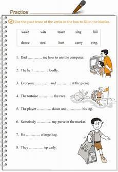 grade 3 grammar lesson 9 verbs the simple past tense 2 grammar lessons simple past tense