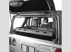 Hooke Road Rear Interior Cargo Rack Storage For Jeep