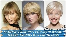 Frisuren Dünne Haare - sch 246 ne frisuren f 252 r sehr wenig haare trends des fr 252 hlings