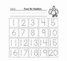 counting tracing numbers worksheets 8044 trace numbers 1 20 for your beloved preschool or kindergarten learn how to trace and count