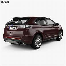 Ford Edge Vignale 2016 3d Model Vehicles On Hum3d