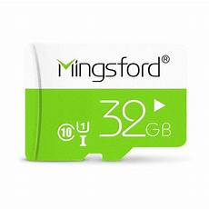 Mingsford Colorful Edition 32gb Class Memory mingsford colorful edition 32gb class 10 tf memory card