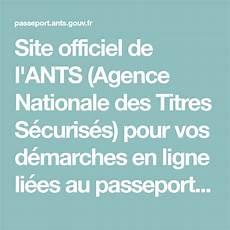 Site Officiel De L Ants Agence Nationale Des Titres