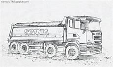 Malvorlagen Lkw Scania Scania 6 Scania Scania Desenho De Caminh 227 O