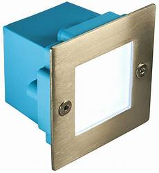 led brick light outdoor step wall light 70mm square ip54 cool or warm white