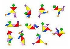 Tangram Kinder Malvorlagen Quest Tangram Spiel Aufgaben Und L 246 Sungen Ausdrucken