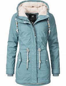 ragwear damen winter regen outdoor jacke mantel parka