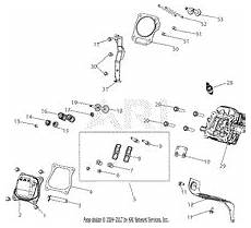 Mtd 165 Wu 179cc Engine Parts Diagram For 165 Wu Muffler