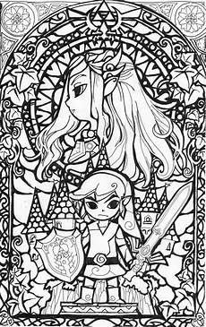 cool coloring page legend of zelda coloring pages pinterest coloring leaf drawing and