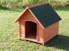 niche pour chien en bois 224 toit pentu niche