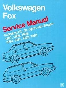 vehicle repair manual 1992 volkswagen fox user handbook volkswagen fox service manual 1987 1988 1989 1990 1991 1992 1993 including gl gl sport