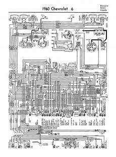 1960 chevy wiring diagram free auto wiring diagram 1960 chevrolet v6 biscayne belair and impala wiring diagram