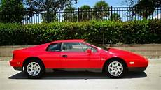 how cars run 1988 lotus esprit engine control 1988 lotus esprit 40 000 one florida owner miles 4 cyl turbo engine 5 spd manual for sale