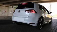 Vw Golf 7 Gtd Driving Loud Sport Sound Paket