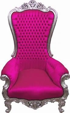 sessel pink casa padrino barock thron sessel majestic pink silber