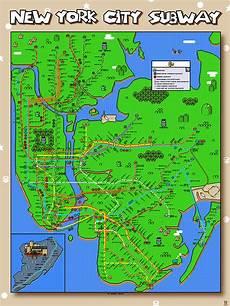 Malvorlagen New York Version And Now An 8 Bit Mario Version Of The New York City