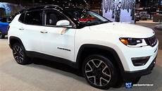 2019 jeep compass limited exterior and interior walkaround 2018 chicago auto show youtube