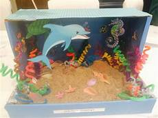 coloring pages preschool 17608 dioramas and dolphins on
