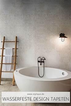 tapete badezimmer badezimmer tapete mit dezentem blumenmuster badezimmer