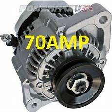high output alternator fits denso street rod race 1 wire new 70 ebay