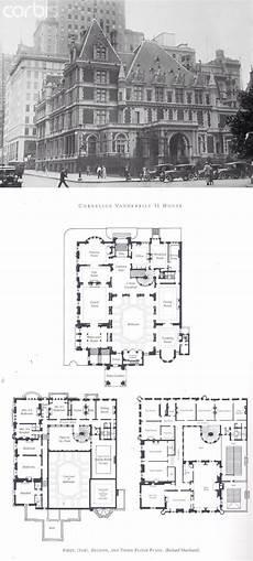 vanderbilt housing floor plans cornelius vanderbilt ii house mansion floor plan