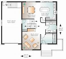 four level split house plans 4 bed contemporary split level home plan 22361dr